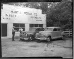 1946: Martin Motor Co. sells car to Police Dept.