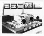 1938: Auburn business district: architectural model