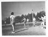 1938: Women playing volleyball 2