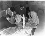 1938: Clay Modeling Class 2