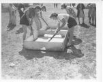 1938: Play day for women's athletics
