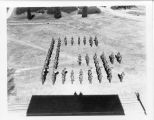 1937: API Marching Band drills and formations 1