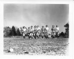 1938: Women playing field hockey 1