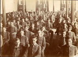 1890s: Students seated in classroom