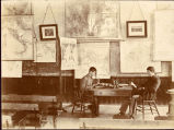1893: Students studying in Dr. George Petrie's classroom