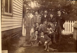 1890: Faculty and cadets