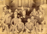 1900: Dr. W. G. Harrison and students
