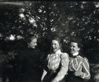 1900: May Berta Grout, Mary Robbins Sampey, and Miss Bragg 2