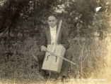 "1917: Jack Linx and his soap box ""cello"""