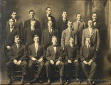 1910: Group of male students