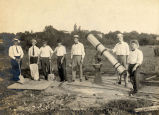 1917: Construction of outdoor telescope