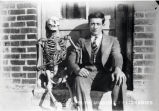 1928: Student with friend (skeleton)