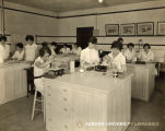 1930: Home economics students in cooking class 5