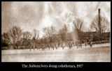 1917: Auburn boys doing calisthenics
