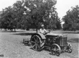 Kilpatrick on tractor in pecan orchard in Dallas Co., Ala. 2
