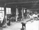 API student activities: carpenter and manual training shop, 1925