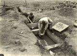 API engineering students working on sewage system, 1926