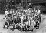 Chambers County club boys at Boy Scout camp, August 1925
