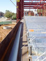 steel deck, east wall block & 2nd floor deck 067