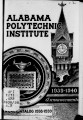 1938: [pdf for printing] Catalog of the Alabama Polytechnic Institute