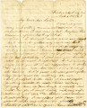 1863-03-06: Josiah Grimes Parsons to Francis Eugenia Parsons Cherry, letter