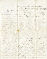1863-04-19: Josiah Grimes Parsons to Francis Eugenia Parsons Cherry, letter