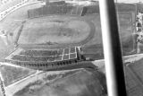 1950: Aerial view of API Homecoming football game 5