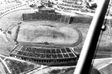 1950: Aerial view of API Homecoming football game 2