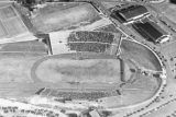 1950: Aerial view of API Homecoming football game 4