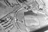 1950: Aerial view of API Homecoming football game 6