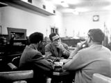 1950: API students: customers at The Grille