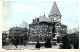 1921: API Chemical Laboratory (now Hargis Hall), postcard