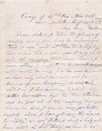 1862-07-19: Walker, John A., to Walker, Mary, Letter