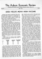1941-05: Auburn Economic Review, Vol. II, No. 4