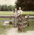 Eugene B. Sledge and son Henry at Yorktown