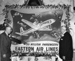 Eastern Air Lines' 50,000,000th passenger celebration