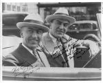 Eddie and Albert Rickenbacker in Indianapolis, Indiana