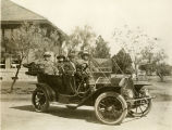 Eddie Rickenbacker driving William Jennings Bryan