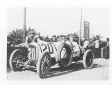 Eddie Rickenbacker in a race car