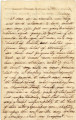 1850s: John P. Elsberry to Mary Louisa Mitchell Williamson, Letter