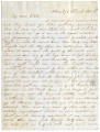 1861-10-12: Phil F. Mitchell to Mary Louisa Mitchell Williamson, Letter
