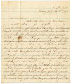 1862-07-18: Mary Louisa Mitchell Williamson to Joseph A. Mitchell, Letter