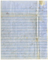 1862-04-16: Joseph A. Mitchell to Mary Louisa Mitchell Williamson, Letter