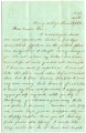 1859-04-26: P. F. Reed to Mary Louisa Mitchell Williamson, Letter