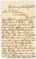 1863-02-09: Robert H. Molton to Samuel Thomas Williamson, Letter