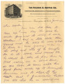 1902-06-11: Edward Blocker Williamson to Mary Louisa Mitchell Williamson, Letter