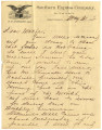 1896-05-31: Joseph A. Williamson to Mary Louisa Mitchell Williamson, Letter