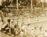 Military swim meet: start of a race, Hawaii, 1930s 3