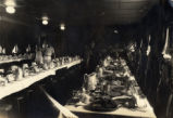Thanksgiving table for the 65th Service Squadron, Luke Field, Hawaii, 1931
