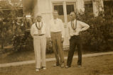 Everett Leavins and two buddies in Hawaii in the 1930s 3